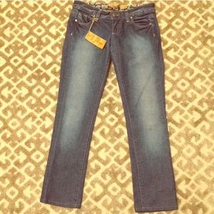 NWT Paige cropped stretch Jeans 24 $189